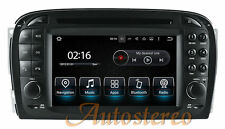 Car DVD Player Android 7.1 Headunit for Mercedes Benz SL R230 SL500 2001-2007