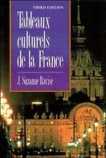 Tableaux culturels de la France (3rd Edition) by J. Suzanne Ravise, Good Book