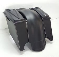 "6.5 Speaker Lids #3 Harley Stretched 4"" fender overlay,Saddlebags Dual Extended"