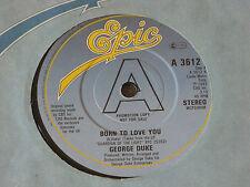 "George Duke – Born To Love You  PROMO  7""  UNPLAYED EX SHOP"
