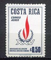 35436) COSTA RICA 1973 MNH** Human Rights 1v Scott# C577