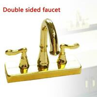 1:12 Scale Dollhouse Miniature Faucet Mixer Tap for Kitchen or Bathroom-Sink