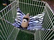 "Ferret Hammock - Standard Zebra Stripe 11"" x 13"""