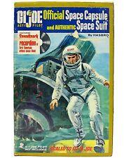 Vintage 1964 Hasbro GI Joe Space Capsule Astronaut Set w/Suit 45rpm Record & Box