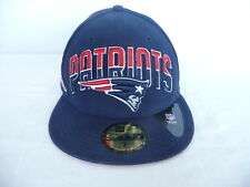 New England Patriots New Era 59Fifty Fitted Hat Size 7 AFC NFL