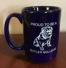 University of BUTLER BULLDOGS Ceramic Coffee Mug Cup Vtg NCAA College Basketball