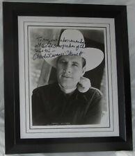 CHARLES DURANGO STARRETT COWBOY VINTAGE SIGNED PHOTO AUTHENTIC AFTAL DEALER #199