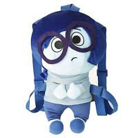 Disney Inside Out Sadness 17 Inch Plush Back Accessory NEW Clothing