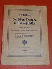 Buch Deutsche Truppen in Südwestafrika Franke 1906 Kolonie Afrika Geschichte