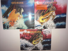 ERASURE - WORLD BE GONE + WORLD BEYOND - 2xCD SET incl. PROMO HAND SIGNED CARD