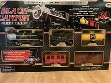 New Black Canyon G Gauge Train Set In Box