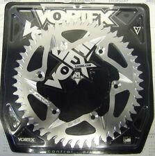 Vortex Motorcycle Rear Sprocket Silver 208-49 Yamaha YZ WR 125 250 400 426 450