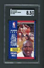 SGC 8.5 — 1991-92 Fleer Michael Jordan All-Star #211 — Bulls