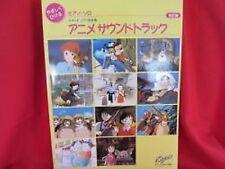 Studio Ghibli Soundtrack 39 Piano Sheet Music Book