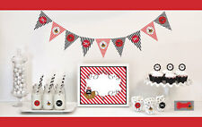 Pirate Theme Birthday Party Baby Shower Decorations Starter Kit