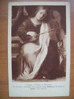 CARTOLINA ORIGINALE VENEZIA CHIESA S.ZACCARIA MADONNA IN TRONO E SANTI ( C09 )
