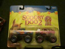 HOT Racing CHAMPIONS MONSTER ** Scooby Doo2 ** TRUCKS 2-Pack NiP RARE & VHTF