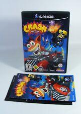 CRASH TAG TEAM RACING für Nintendo GameCube Spiel mit OVP + Anleitung bandicoot