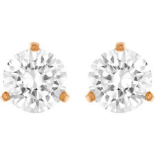 Swarovski Crystal 5112156 Rose Gold Pierced Earrings Factory New