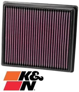 K&N REPLACEMENT AIR FILTER FOR BMW 1 SERIES 125I N20B20 N20B20M0 TURBO 2.0L I4
