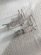 Set Of 2 Redlich Sterling Silver Figural Ashtray Match Cigarette Holders