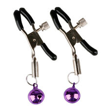 Women's Lady's Chic Product-Nipple Adornment Bell Clip Non Piercing Accessories