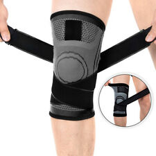 Knee Sleeve Compression Fit Brace Support Sports Joints Arthritis Pain Relief