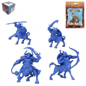 Tehnolog Centaurs 2 Sets Of 4 Pieces 55 mm Scale Fantasy Battle No Painted