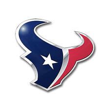 Team ProMark NFL Houston Texans Aluminum Color Car Truck Emblem Sticker Decal