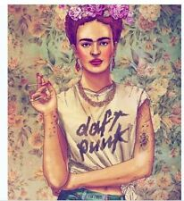 Frida Kahlo-Fabric Bathroom Shower Curtain Liner-waterproof-180*180cm-71''