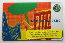 Starbucks Card #6034 - Green Umbrella 2007