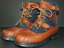 Polo Ralph Lauren Dry Goods Men's Size 11D 100% Leather Upper Drax Boots