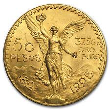 1925 Mexico Gold 50 Pesos BU - SKU #65706