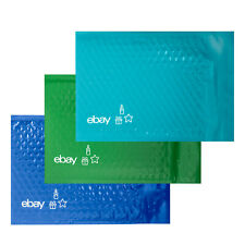 """NEW PRODUCT Holiday 6.5"""" x 9.25"""" Padded Bubble Mailer – Teal, Blue, and Green"""