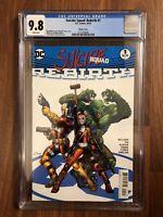 DC COMICS SUICIDE SQUAD #1 WHITE VARIANT CGC 9.8! REBIRTH RARE! KEY SOLD OUT HQ