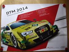 AUDI RS 5 DTM Mike Rockenfeller SPORT TEAM Fenice racing viaggi auto poster
