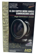 Raynox HD-5050PRO 0.5x HD Super Wide Angle Lens Digital and DVD High Definition