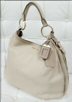 Prada Leather Cream / Ivory Tote Shoulder bag Hobo handbag