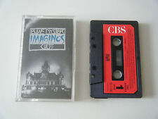 BLUE OYSTER CULT IMAGINOS CASSETTE TAPE 1988 RED PAPER LABEL CBS HOLLAND
