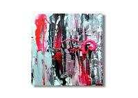 Wandbild Gemälde Abstrakt  Acrylmalerei Unikat Nr. 793
