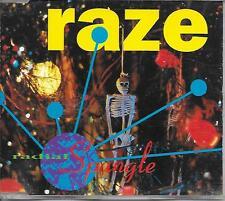 RADIAL SPANGLE - Raze CD SINGLE 3TR Alternative Rock 1993 UK Release
