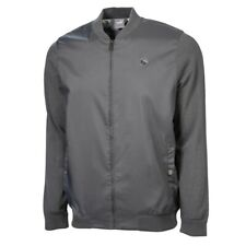 Puma Golf 2020 Arnold Palmer Arnie Bomber Jacket Color: Iron Gate Size: Medium
