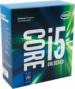 Intel Core i5-7600K Kaby Lake Quad-Core 3.8 GHz LGA 1151 91W BX80677I57600K CPU