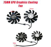 Für MSI GTX 1050ti 1050 GTX 1650 Reparaturteil Grafiklüfter 75MM GPU-Kühler Neu