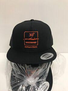 Mazda Embroidered 30th Anniversary Miata Black & Orange Baseball Cap SnapBack