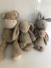jellycat Teddy Bears X 3