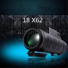 3 Couleur Zoom Monoculaire Lunette Jumelle Télescope Réglable Camping 18 x 62