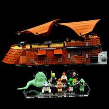 Display Stand Acrylglas Standfuss für LEGO 6210 Jabba's Sail Barge