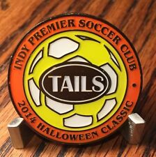 Indy Premier Soccer Club Halloween Classic 2014 Challenge Coin
