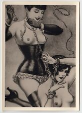 S/M SADOMASO SPANKING BONDAGE NUDE * 50s Photo of 1930s LÉON PIERRE Drawing #4